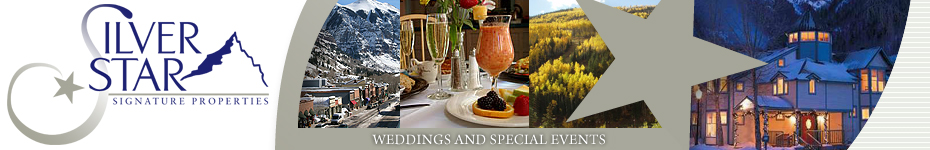 Telluride Weddings, Reunions, Meetings, Retreats from Silver Star Signature Properties - Telluride's Finest Accommodations, Lodging and Rentals
