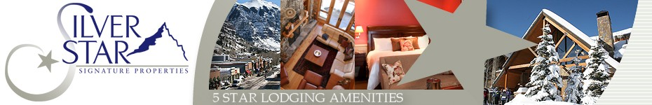 Telluride Lodging Amenities from Silver Star Signature Properties - Telluride's Finest Accommodations, Lodging and Rentals